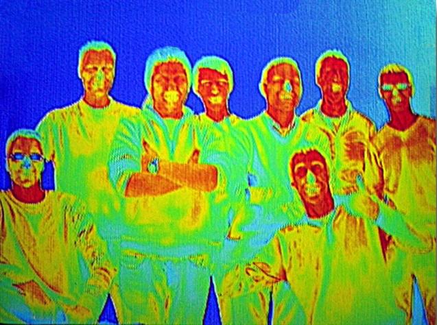 ThermoFly, Team, Wärmebildkamera, MPE2009